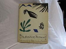 THE DECISIVE MOMENT-CARTIER BRESSON 1952-1ST ED HB/J w CAPTION BOOKLET VG++