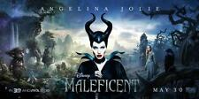 "Disney's MALEFICENT 15""x30"" Original Promo Movie Poster 2014 MINT Angelina Jolie"