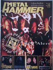 METAL HAMMER N°7 1999 MACHINE HEAD TESTAMENT GODS OF METAL IRON MAIDEN DYNAMO