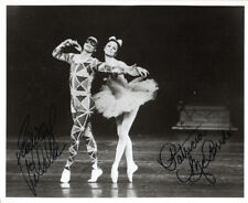 EDWARD VILLELLA & PATRICIA MCBRIDE SIGNED 8x10 PHOTO BALLET LEGENDS BECKETT BAS