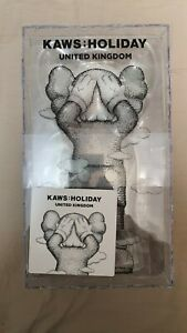✅Authentic✅ Brand New KAWS Holiday UK Vinyl Figure Brown IN HAND
