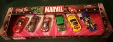 Hard to Find ~ MARVEL Comics 6 Pack Die Cast Car Collection By Maisto (2003) NIB