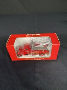 Crown Snap-On 1934 Ford Tow Truck 1:43 Scale Die Cast Replica 2004 Road Service
