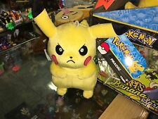 "OFFICIAL NINTENDO POKEMON 8"" PIKACHU soft toy plush new tags"