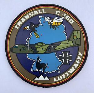 C-160D Transall Luftwaffe Patch Bundeswehr Klett Hohn LTG 62 61 63Aufnäher PVC