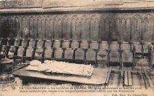 LA SILLA DIOS - LA tumba de Clément VI - riche monumento mármol