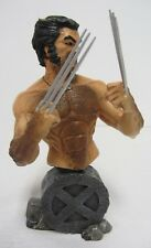 Wolverine Mini-Bust Statue #1134/1200 Limited Painted Tower Ex. 2003 ~ Damaged