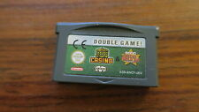 GOLDEN NUGGET CASINO  +  TEXAS HOLD'EM POKER      -----   pour GAME BOY ADVANCE