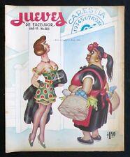 ERNESTO GARCIA CABRAL ART JUEVES DE EXCELSIOR 1967 Sexy Funny
