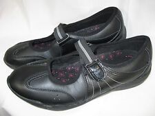 Tredsafe Mary Jane Shoes Oil Slip Resistant Black Slip On 8 Sage Rubber Chef