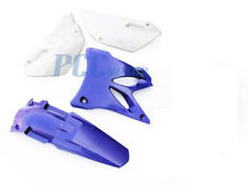 NEW YAMAHA YZ85 YZ 85 PLASTIC FENDERS KIT BLUE 2002-2014 I PS69