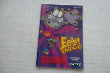 Notice Super Nintendo / Snes manuel Eek The Cat PAL ukv original Booklet *
