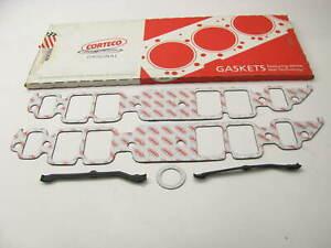"Corteco 55036IN Intake Gasket Set Chevrolet BBC 1.82""X2.54"" Ports 1/16"" Thick"