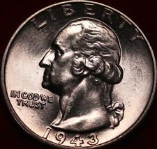 Uncirculated 1943  Philadelphia Mint Silver Washington Quarter