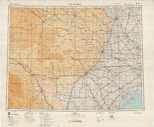 Russian Soviet Military Topographic Maps - SAN ANTONIO (USA) 1:1Mio, ed.1950
