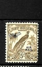 NEW GUINEA 1932   5/-  AIRMAIL  MNH     SG 201