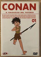 """DVD ANIME - CONAN IL RAGAZZO DEL FUTURO - Volume 1 + BOX """"raro"""""""
