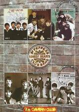 THE BEATLES Cavern CLUB SGT PEPPERS SOLITARIO CUORE CLUB BAND CTO TIMBRO SHEETLET