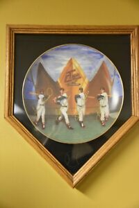 Living Triple Crown Winners Gold Edition Plate - Limited Edition w/ Frame