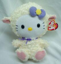 "TY Beanie Baby HELLO KITTY IN LAMB COSTUME 6"" Plush STUFFED ANIMAL Toy"