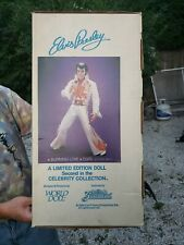 Elvis Presley World Doll Burning Love 1984 Graceland NIB with Papers