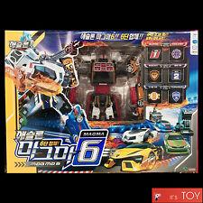 TOBOT ATHLON MAGMA 6 SIX Transformer Transforming Robot Cars Copolymer Young Toy