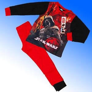 Star Wars Pyjamas Darth Vader Age 3 4 5 6 7 8 9 10 Years