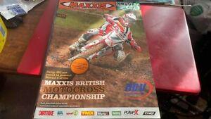 HAWKSTONE--BRITISH MOTOX CHAMPS RND 8---PROGRAMME---10TH SEPTEMBER 2006
