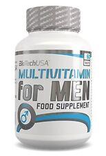 BIOTECH USA MULTIVITAMIN FOR MEN - 60TABLETS MULTIVITAMIN COMPLEX BEST FORMULA !