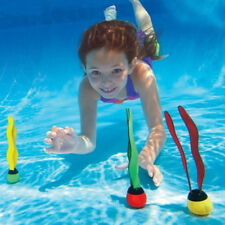 LC_ Outdoor  Underwater Swimming Pool Diving Grab Stick Fake Sea Plant Play To