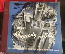 Gershwin's Rhapsody in Blue/Jesus Maria Sanroma/Arthur Fiedler 78rpm Victor 1935