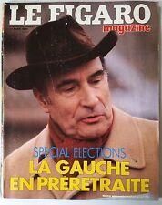 Le Figaro Magazine du 16/3/1985; Spécial Elections/ Sorcières US/ Jane Birkin