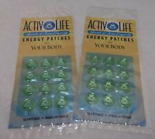 Active Life Secrets of Asian Longevity Energy Patches (12 In One/Lot Of 2 Packs)