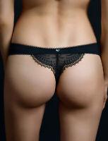 Lisca Sensation black lace thong