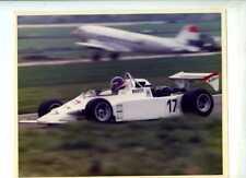 JO GARTNER (1954-1986) Merzario 282 Europeo F2 1982 foto firmato