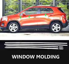 For Holden Trax Chrome Door Window Frame Sill Trim Molding Cover Lining Garnish