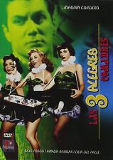 Las 3 Alegres Comadres DVD Movie, Lilia Prado (1952) Comedy Musical,