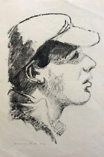 HERMANN STRUCK (1876-1944), Original Lithograph , Pioneer in Black, Signed 19/30