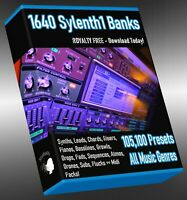 105,100 Sylenth1 Presets Soundbanks LOGIC ABLETON FL STUDIO CUBASE REASON SONAR