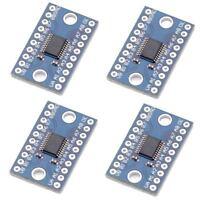 4x TXS0108E 8 Channel Logic Level Converter 3.3V 5V Bidirectional Full Dupl T0U3