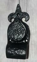 Black Antique Style Door Lock Escutcheon Key Hole Cover. Swinging Lock Cover.