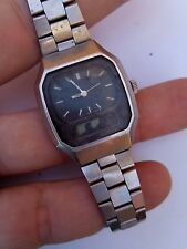 vintage SEIKO E029-516A JAPAN G watch for spare for repair
