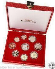 2004 Monaco 9 monete 8,88 EURO Fondo Specchio proof BE PP in box 9 pièces