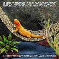 Bearded Dragon Lizard Lounger Large Reptile Toys Hammock Swing For Pet Sight
