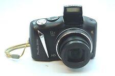 CANON POWERSHOT PC1562 SX130 IS 12.1 MP Black Camera W/ Batteries E8