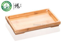 Small Bamboo Gongfu Tea Serving Tabletop 22*13cm