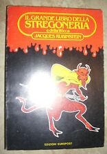 RUBINSTEIN - IL GRANDE LIBRO DELLA STREGONERIA E DELLA WICCA - 1983 EUROPOST (GK
