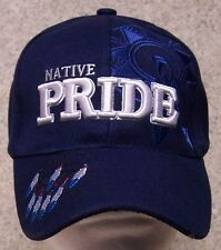 Embroidered Baseball Cap Native Pride Dreamcatcher NEW blue 1 hat size fits all