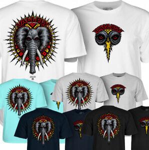 POWELL PERALTA - Mike Vallely - Elephant - Skateboard Tee Shirt