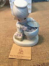 """New ListingPrecious Moments Figurines """"What The World Needs Is Love�"""